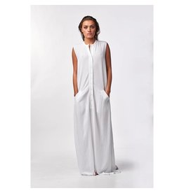 Stieglitz Witte maxi jurk