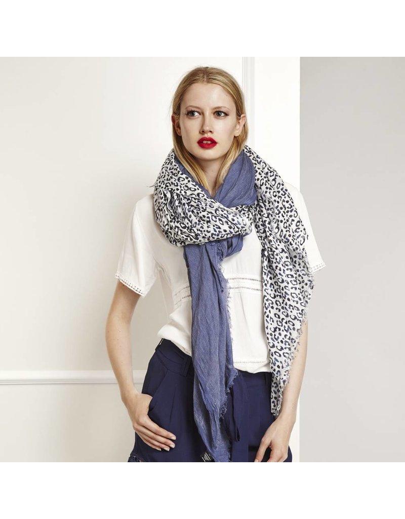 Fabienne Chapot Sjaal met luipaard print