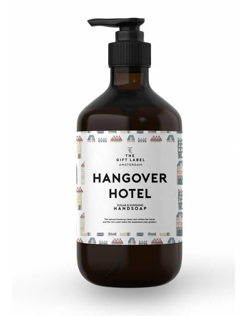 The Gift Label Handzeep hangover hotel