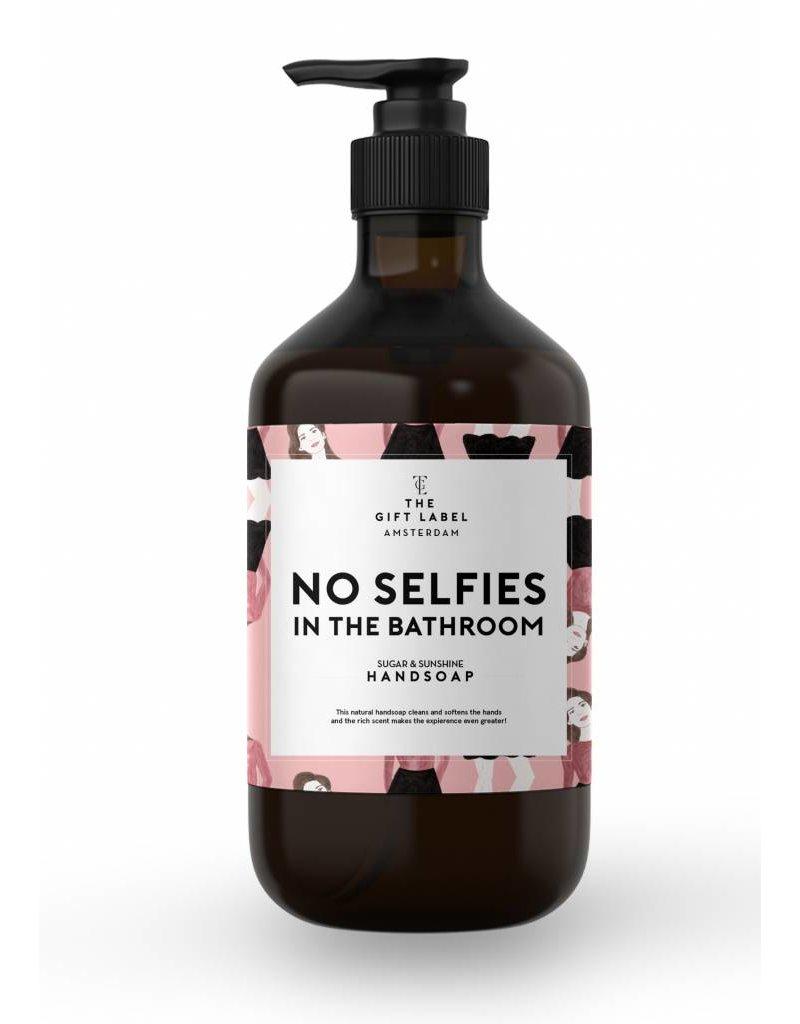 The Gift Label Handzeep no selfies