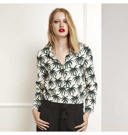 Fabienne Chapot Blouse met palmbomen