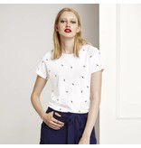 Fabienne Chapot Wit T-shirt met lightning