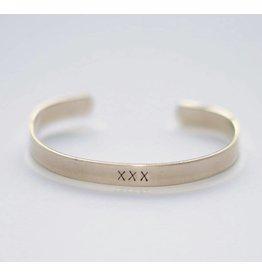 Hartje Amsterdam Zilveren armband xxx
