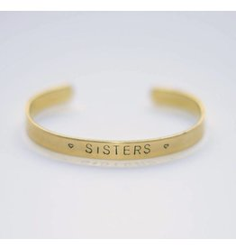 Hartje Amsterdam Gouden armband sisters