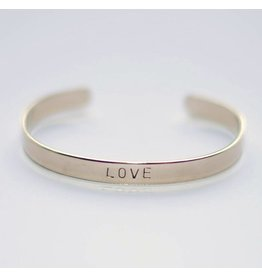 Hartje Amsterdam Zilveren armband love