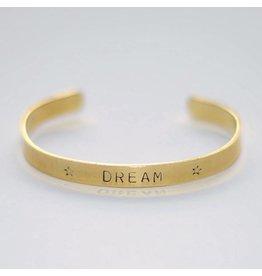 Hartje Amsterdam Gouden armband dream