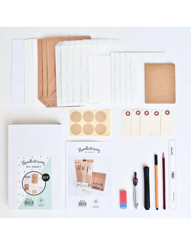 IMAKIN DIY Pakket Handlettering