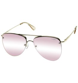 Le Specs The Prince Gold Blush Zonnebril