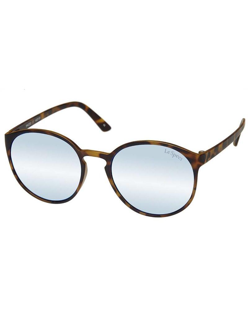 Le Specs Swizzle Matte Tortoise Zonnebril