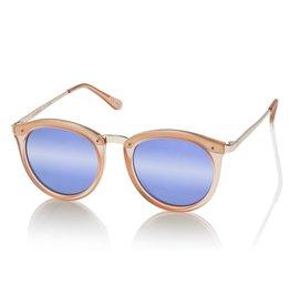 Le Specs No Smirking Matte Apricot Zonnebril