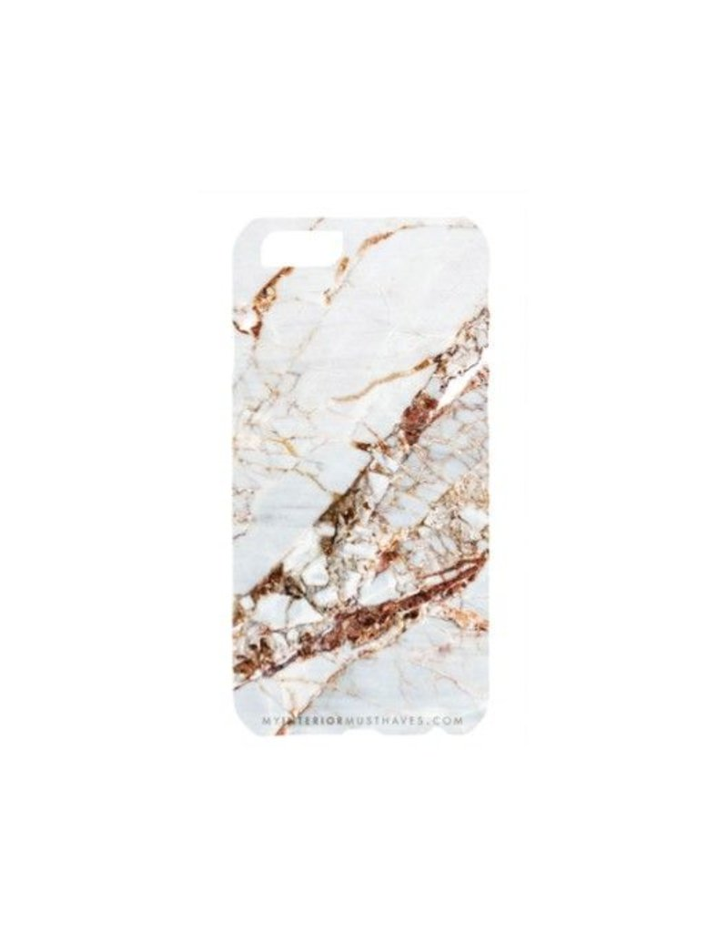My Interior Musthaves Golden Marble telefoon hoesje
