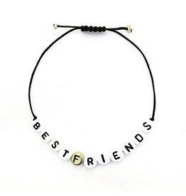 Hartje Amsterdam Armband met kralen Best Friends