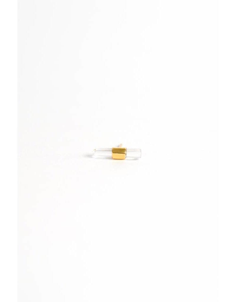 Wildthings Crystal earring gold