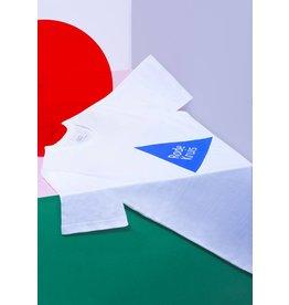 MOAM Rode Kruis X MOAM T-shirt blauw