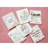 The Gift Label Confetti kaart best mom