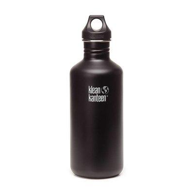 Klean Kanteen Classic 1.2L Drinkfles (Shale Black)