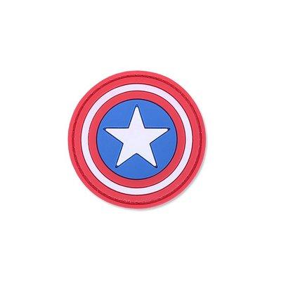 4TAC Captain America PVC Patch
