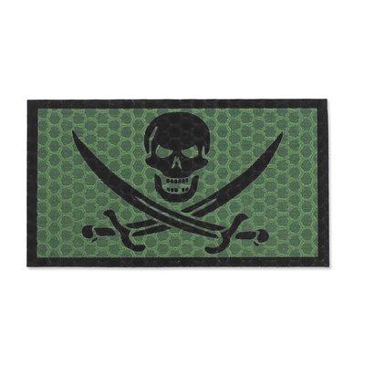 KAMPFHUND Pirate Skull Patch (Olive) (Gen I)
