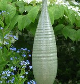 Keramik-Spindel laubgrün