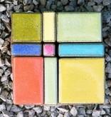 Mosaik Pflasterstein in herrlicher Farbvariante, absolut frostfest