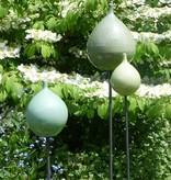 Keramik-Zwiebel mintgrün