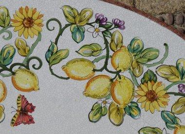 Lavastein-Tische