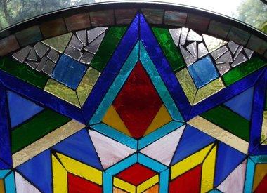 Glasmosaik-Tische