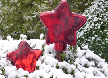 Weihnachts-Gartenstecker
