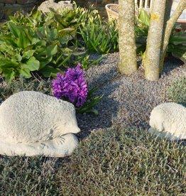 Igel aus Steinguss