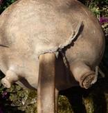 Antiker Krug aus Spanien mit zwei Öffnungen und Verschluss