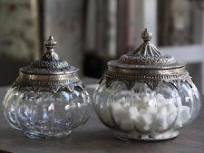 Bon-Boniere mit antik silbernen Deckel