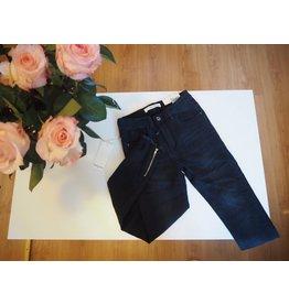 by Natascha Queen Hearts Ashely jeans zwart