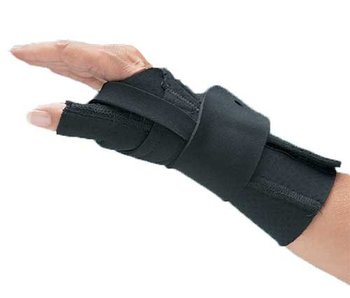 North Coast Medical Comfort Cool wrist and thumb brace CMC