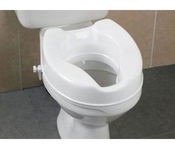 Raised toilet