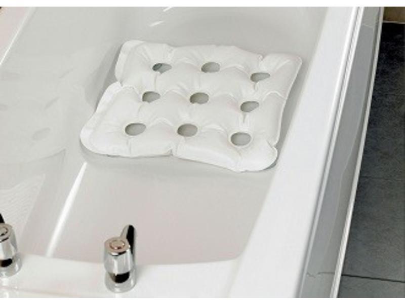 Aufblasbare Badekissen mit Saugnäpfen