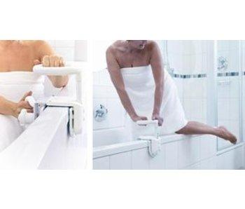 Multifunctional and adjustable handle on the tub rim for Hugo