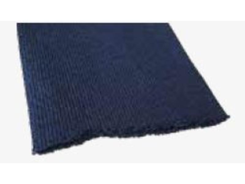 Abdeckung blaue Pflaster