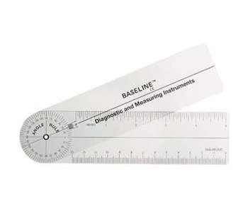 Rulong goniometer 360 degrees, 15 cm.