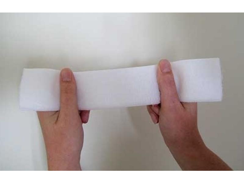 Elastischen Flauschband