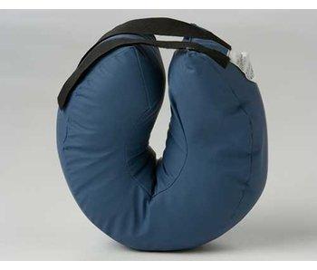 Annular heel protector hollow fiber