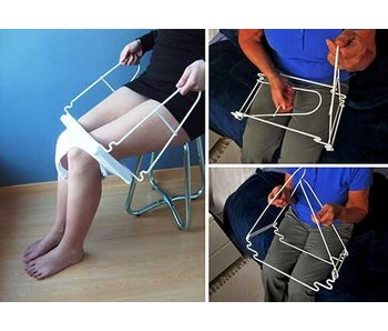 SlipLift® Traveler: panties dressing aid, foldable