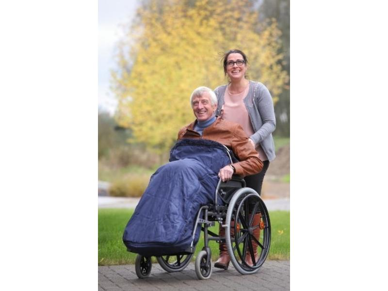 Legs- and lower protection for wheelchair RFM
