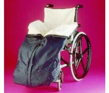 Benen- en onderlichaambescherming voor rolstoel fleece