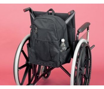 Storage bag for the back of the wheelchair Deluxe