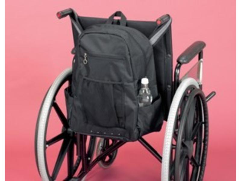 Aufbewahrungstasche für die Rückseite des Rollstuhls Deluxe