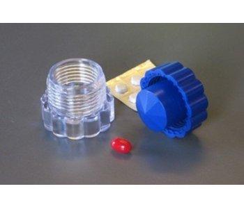 Compacte pillenverbrijzelaar met opbergvakje