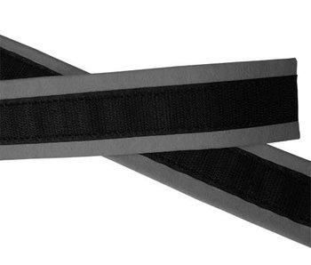 VELCRO® brand Polster Gämsen Lederband grau