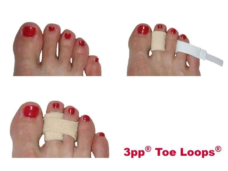 3 Point Products 3PP Toe Loops teenspalk