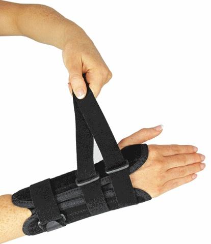 Poroflex Handgelenk und Daumenstütze - Stockx Medical