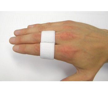 Elastic Finger Splint White